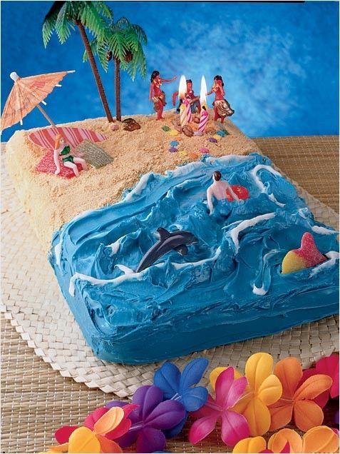 100 Easy Kids Birthday Cake Ideas Creative Sweets Beach Cakes