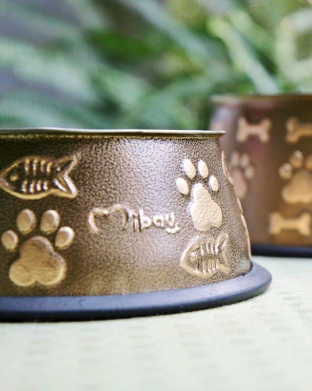 Cat Bowl Golden Brown