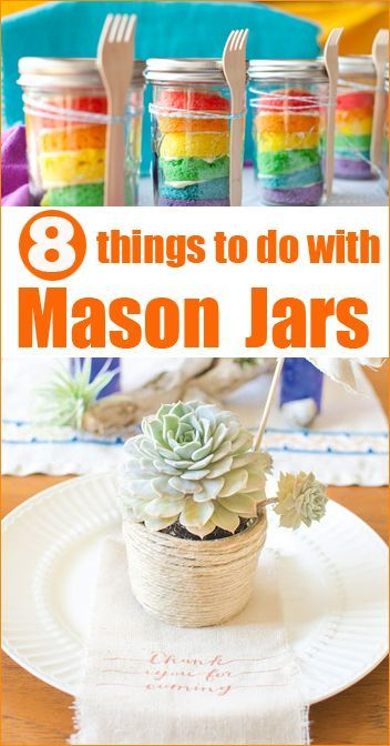 8 Mason Jar Projects to Love!
