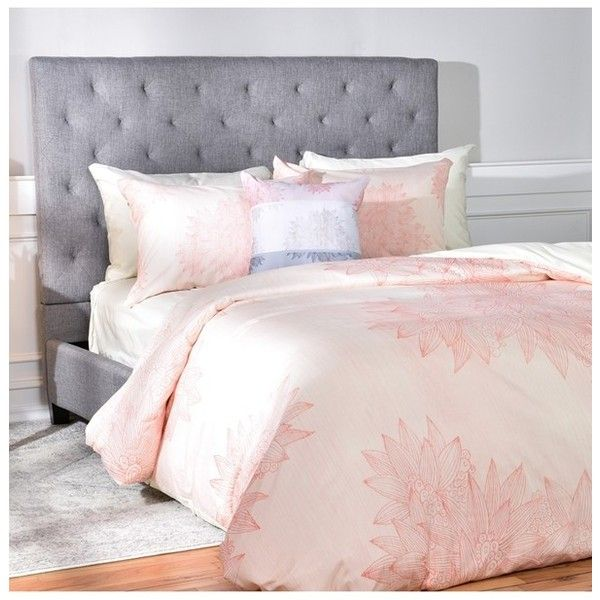 Deny Designs Iveta Abolina A Beach Day Duvet Cover Sham Set 249 Liked On Polyvore Featuring Home Bed B Pink Duvet Cover Duvet Cover Sets Bedding Sets