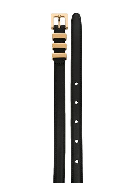 90b31590986ba Shop Saint Laurent  Classic 3 Passants  belt in Forty Five Ten from the  world s best independent boutiques at farfetch.com. Shop 400 boutiques at  one ...