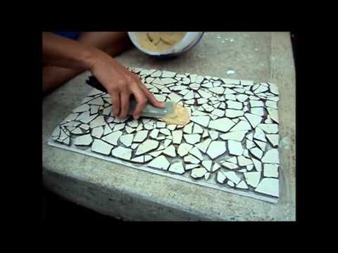 How To Mosaic Tile Project Fast Tutorial For Beginners Youtube