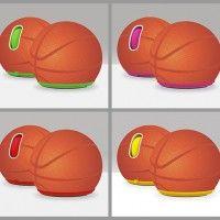 Basketball computer mouse