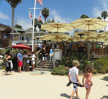 Beachcomber Restaurant At Crystal Cove Newport Beach