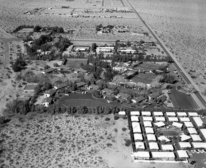The Racquet Club Circa 1955 Palm Springs Desert Homes Coachella Valley
