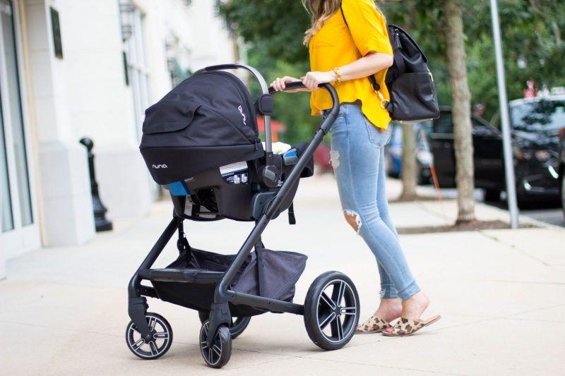 Taking A Stroll With Nuna Mixx2 Nuna Pipa Best Single Stroller
