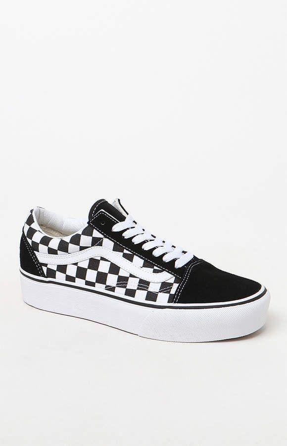 Vans Women s Old Skool Platform Sneakers in 2019  fa210e834c