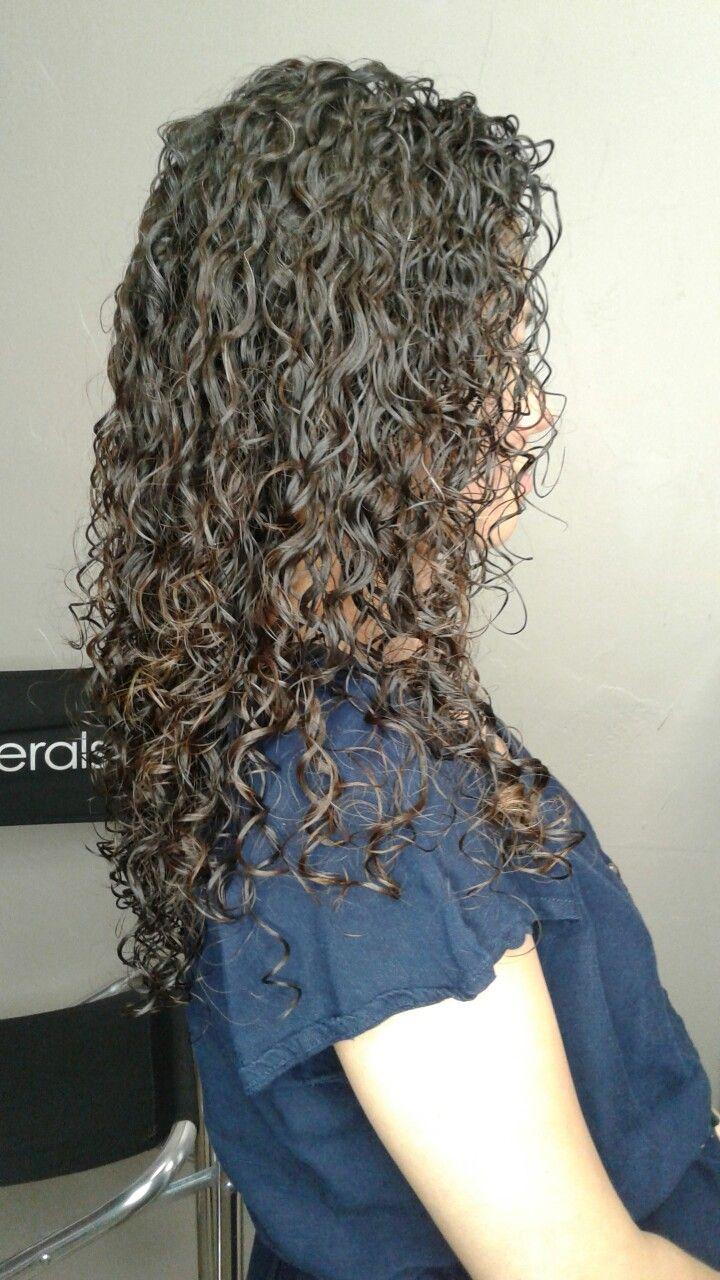 Haare farben und dauerwelle