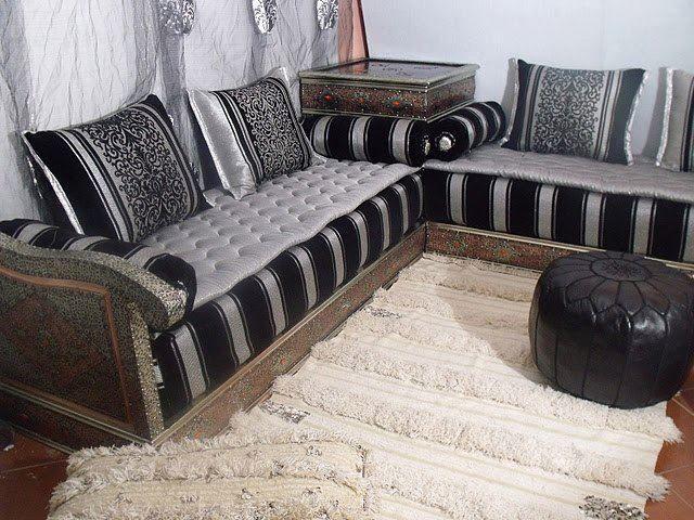 Salons modernes à vendre sur kitea   Salon marocain   Moroccan ...