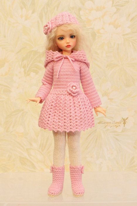Outfit set for Iplehouse KID BJD by MaramBanu on Etsy, $45.00