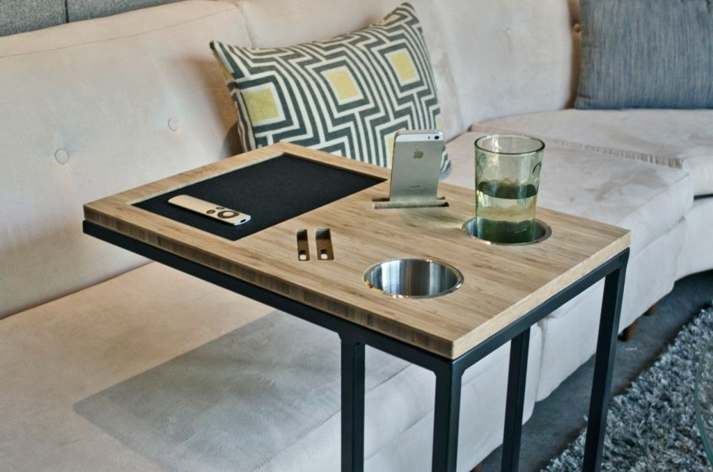 Swell More Click Table For Couch Diy Table Slides Under Sofa Gmtry Best Dining Table And Chair Ideas Images Gmtryco