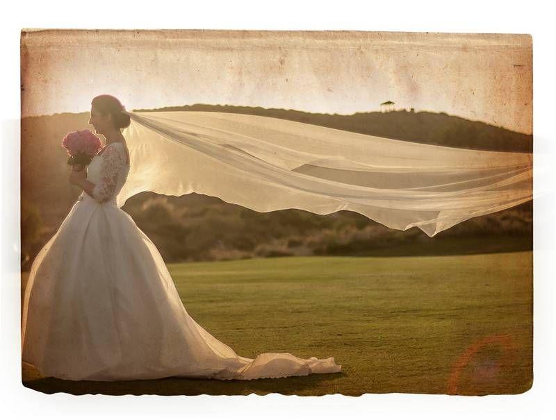 boda vintage novia