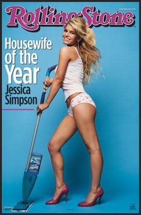 Jessica Simpson Rolling Stone cover