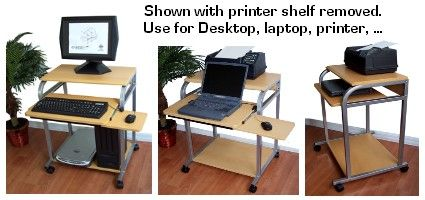 sts5801: narrow computer desk for small spaces, can be used ...