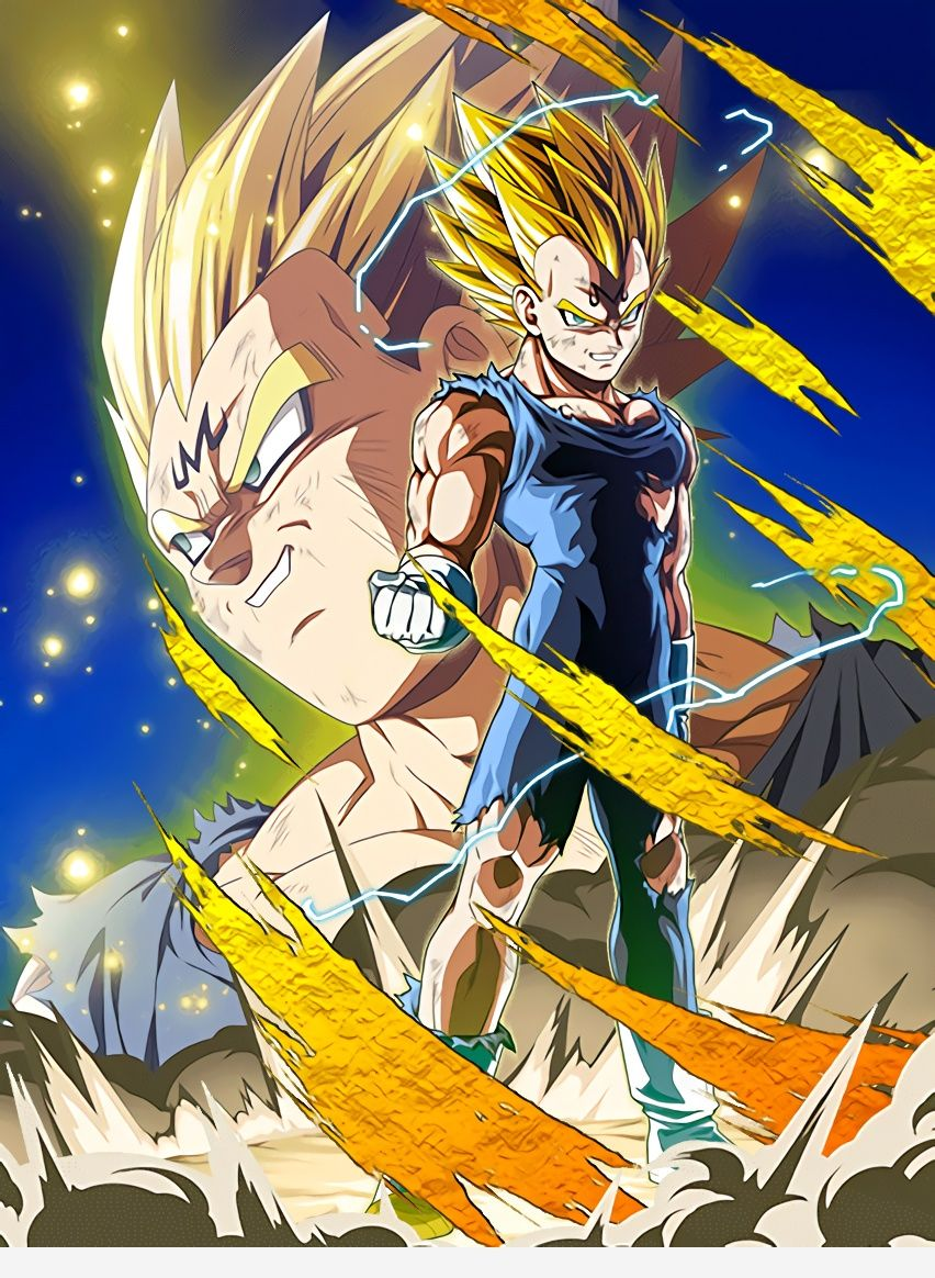 majin vegeta iphone wallpaper http//desktopwallpaper