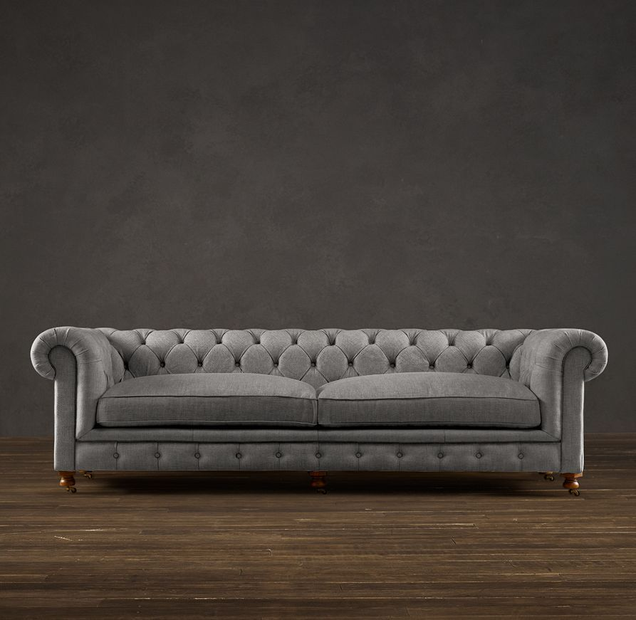 98 kensington upholstered sofa i would be all over that funky rh pinterest nz Rooms with Chesterfield Sofa Living Room Chesterfield Sofa