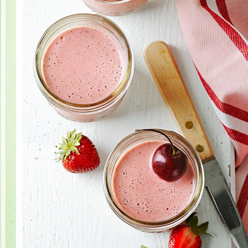 Cherryberry oatmeal smoothies recipe easy smoothie