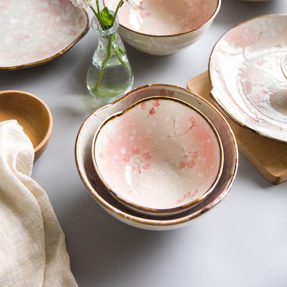 Snow Glaze Sakura Cherry Blossom Dishes Alibaba Com Japanese Cherry Blossom Hand Painted Ceramics Cherry Blossom