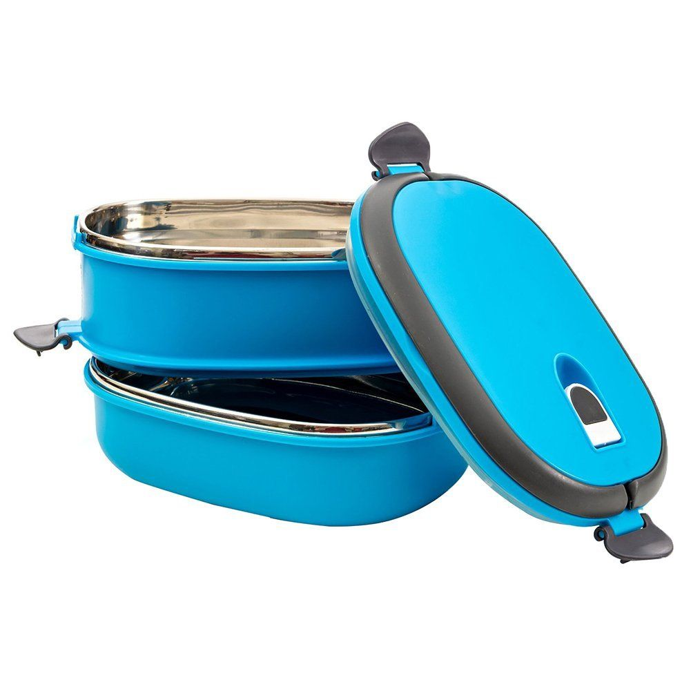 This Bento boxes and carriers deal does come with a handle that ...