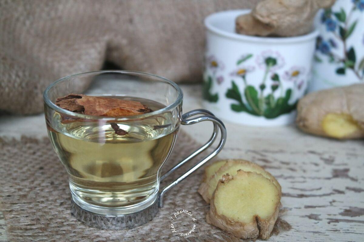 Tisana zenzero, cannella e chiodi di garofano