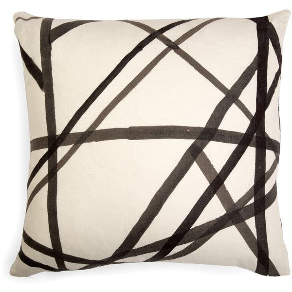 pillow wearstler skye pillows cover charcoal channels kelly retouch deco large products willa ebony home