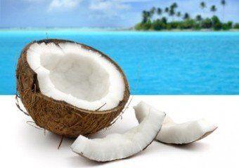 Kokosnüsse machen gesund