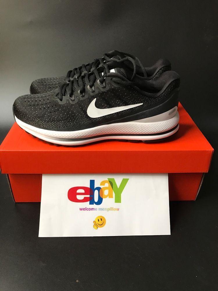 fc7677c8153 New Nike Air Zoom Vomero 13 922908-001 Men Black White Anthracite  Nike   RunningCrossTraining