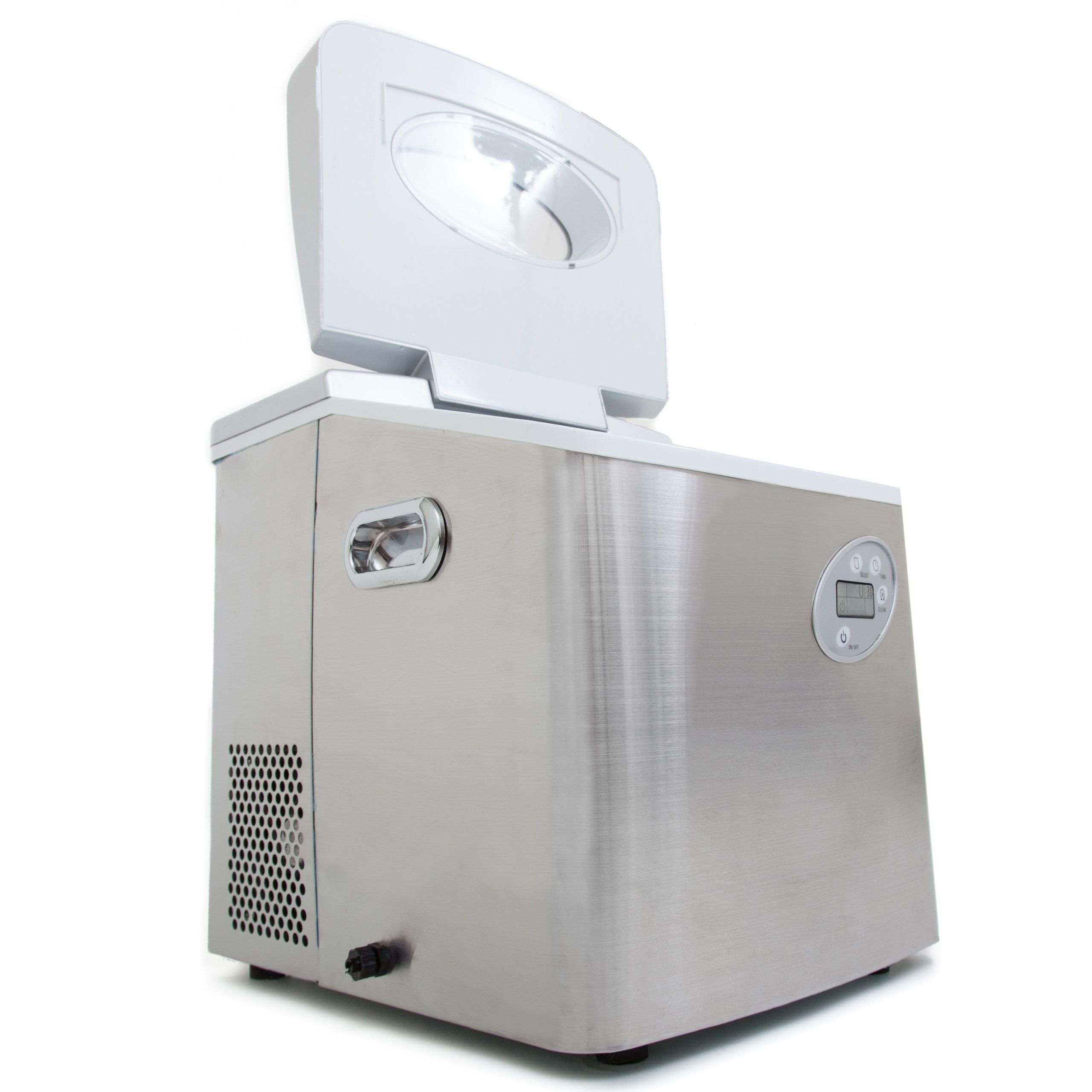 Whynter Imc490ss Portable Ice Maker 49pound Stainless Steel Learn More By Visiting The Image Link This Is An Portable Ice Maker Ice Maker Washing Machine