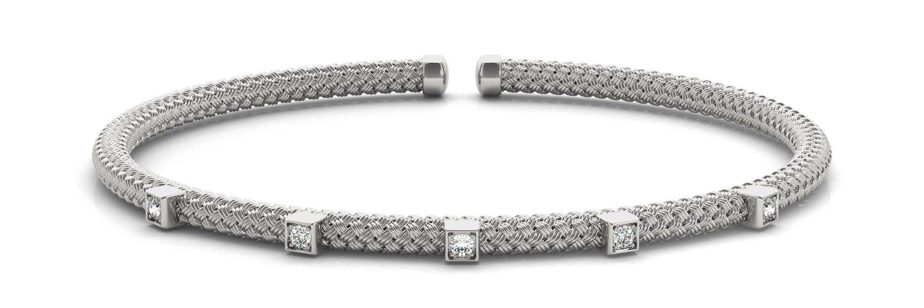 ct diamond bracelet with f color vs clarity diamonds diamond