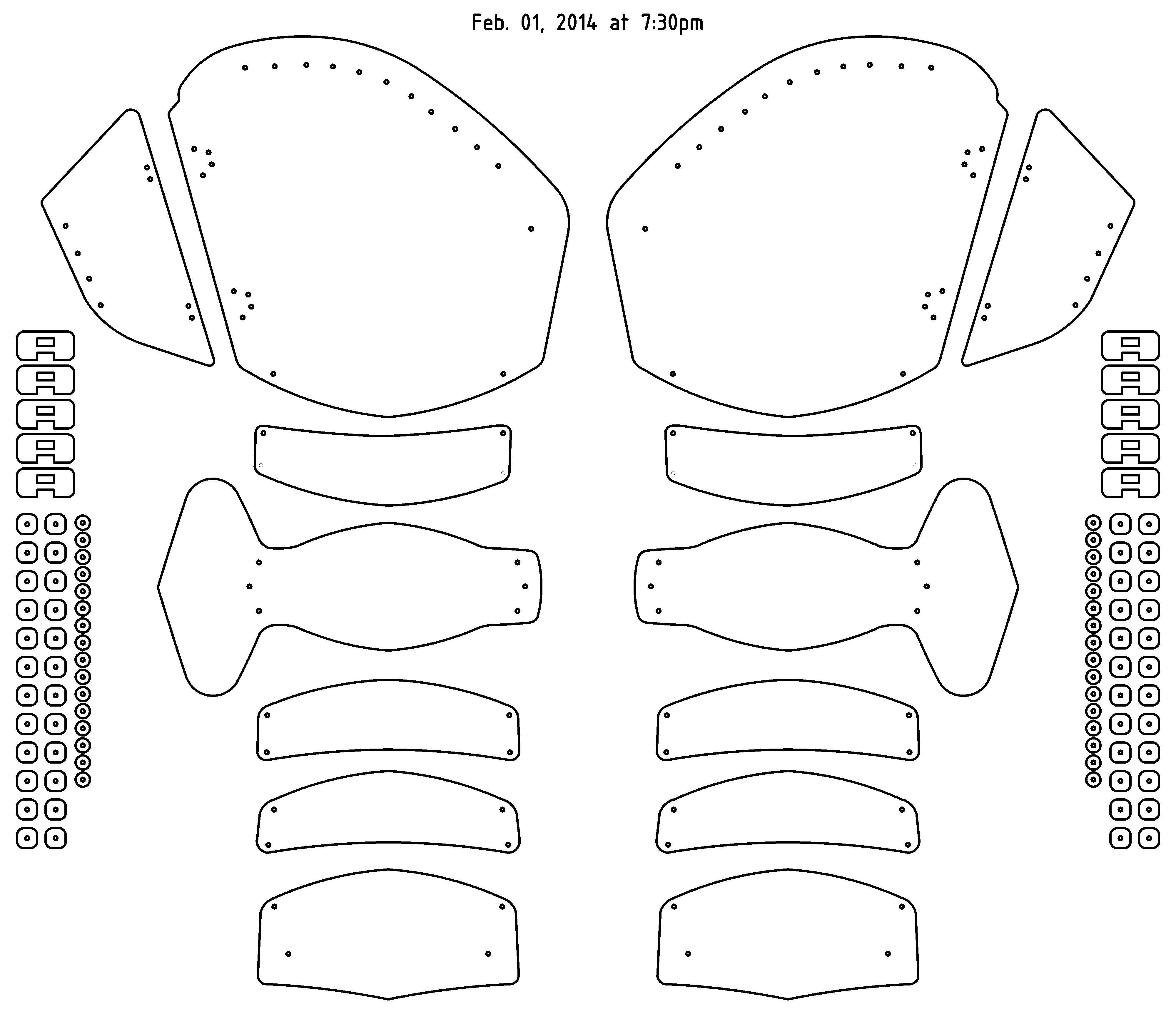 Early 15th Century Italian Legs