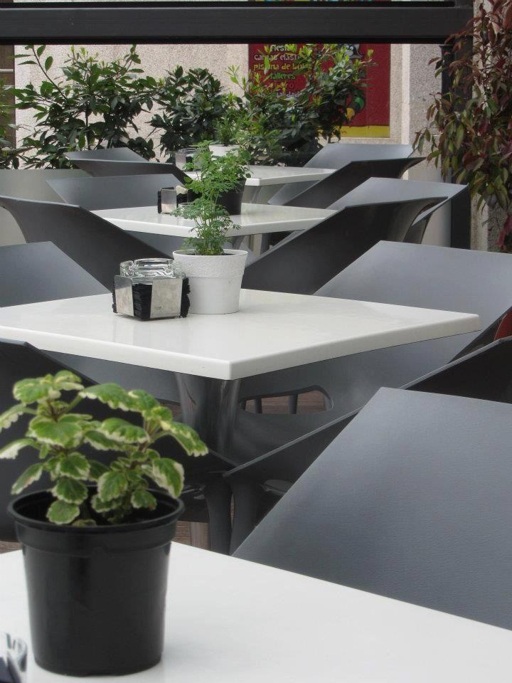 #O'Delito Café-Cocina. #Coruña.  Terraza