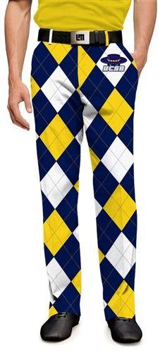175d3925c Loudmouth Golf MENS Made To Order Pants - UC Santa Barbara Gauchos. Buy it  @ ReadyGolf.com