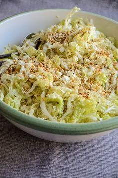 Photo of YumYum Chinakohl Salat {www.dasweissevomei.com}