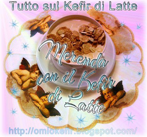 Gustoso e benefico #Kefir di latte