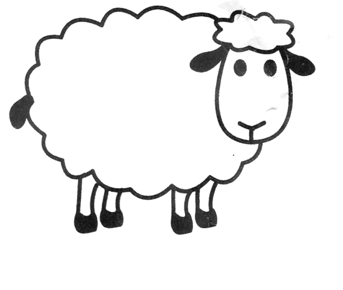 Sheep Templates Printable Sheep Crafts Sheep Template Sheep Outline