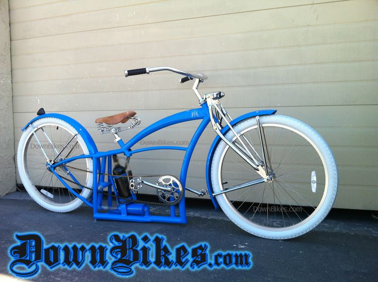 Custom Cruiser Bicycle With Air Ride Suspension Www