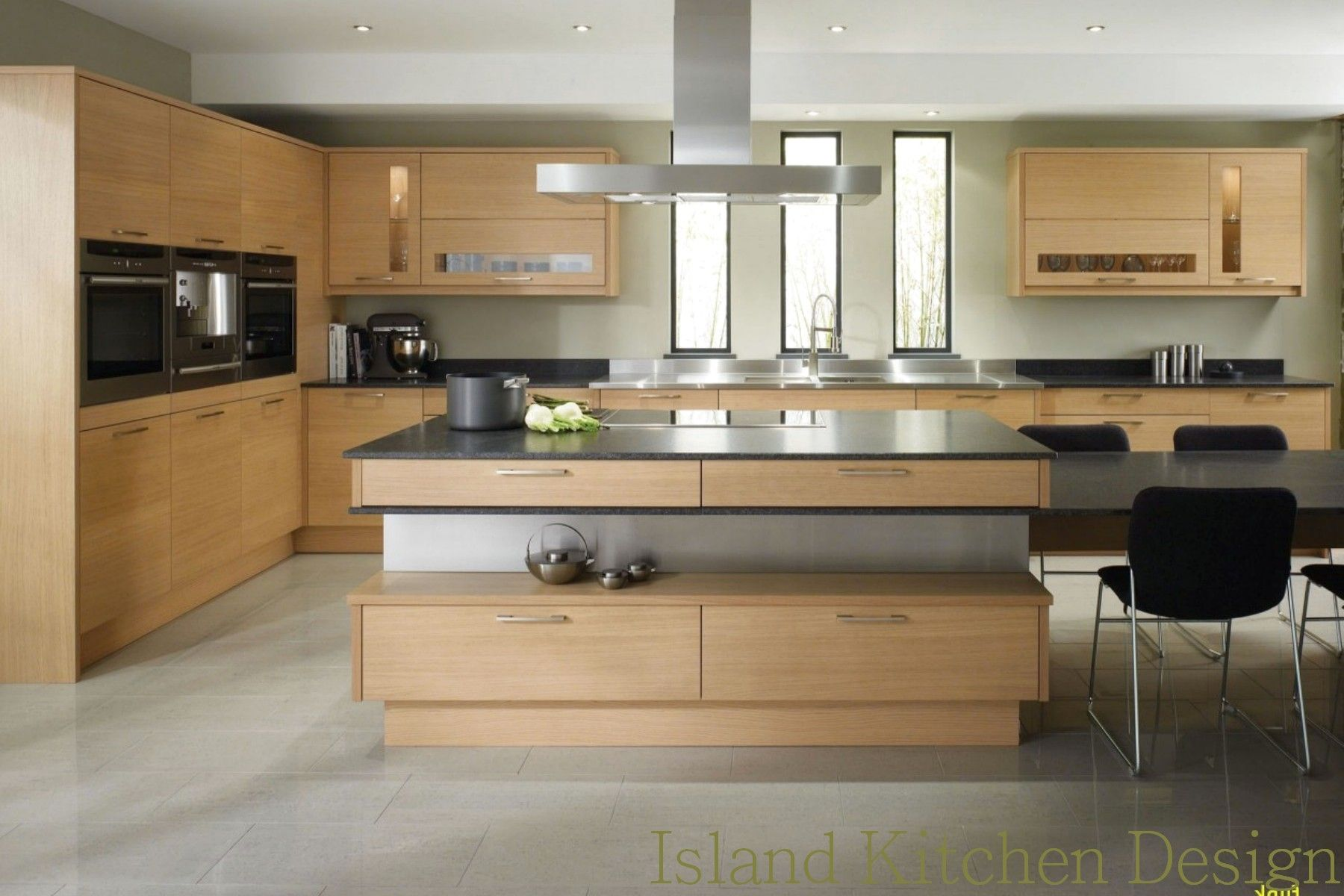 Island Kitchen Design Cake Pans Cookware Kitchen Canisters Jars ...