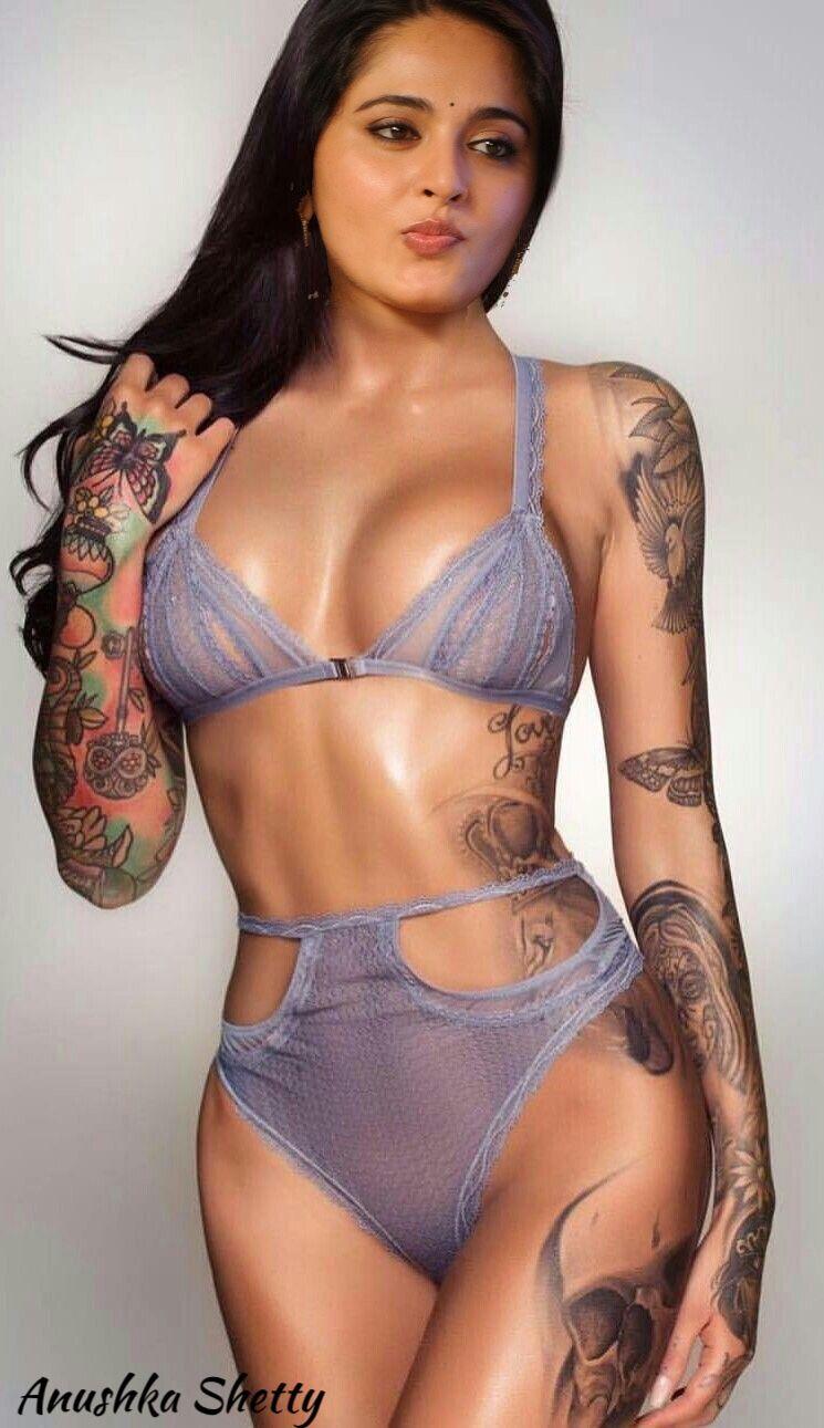 c8764c4f8f Anushka Shetty Tattooed Girls