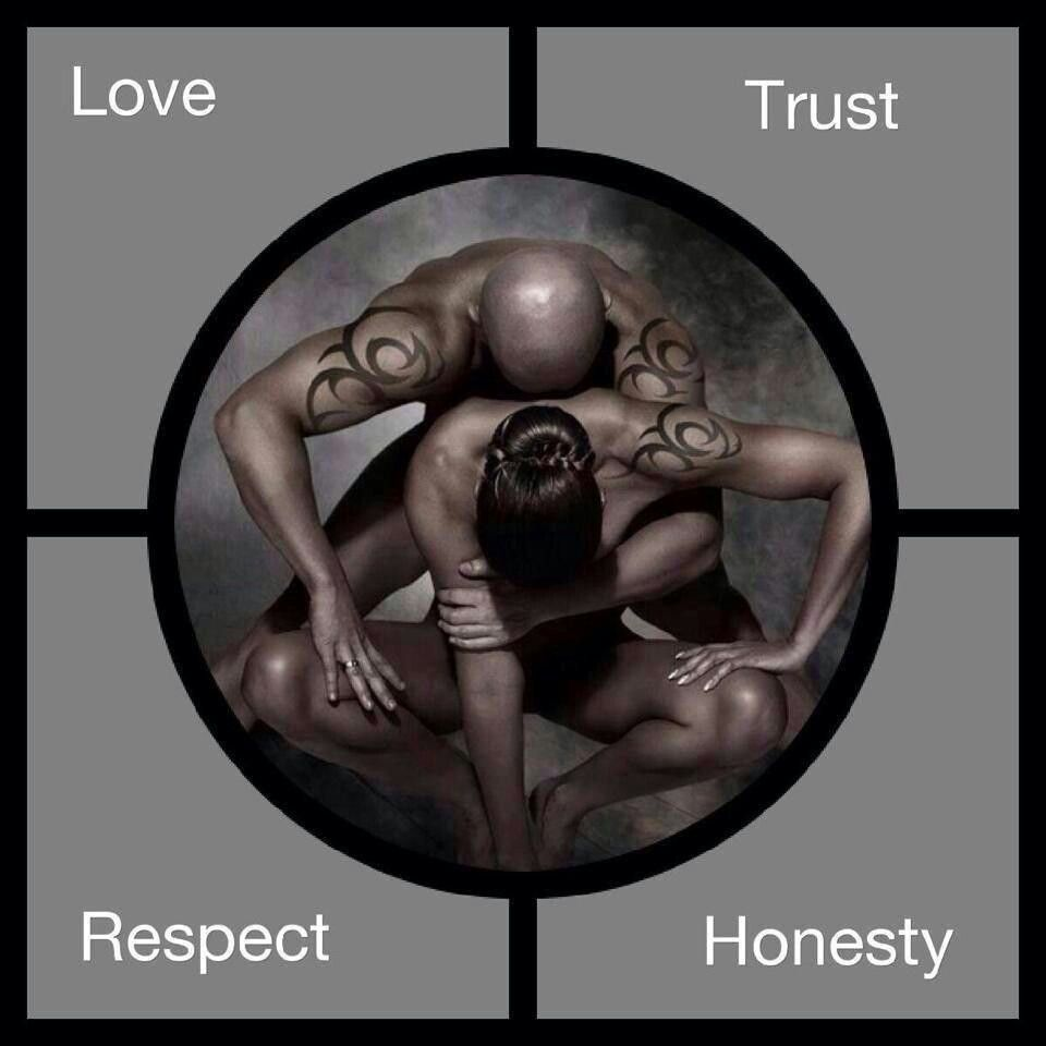 ♥♡ The four corner stone to any great relationship Facebook.com/QueensByAnyMeans