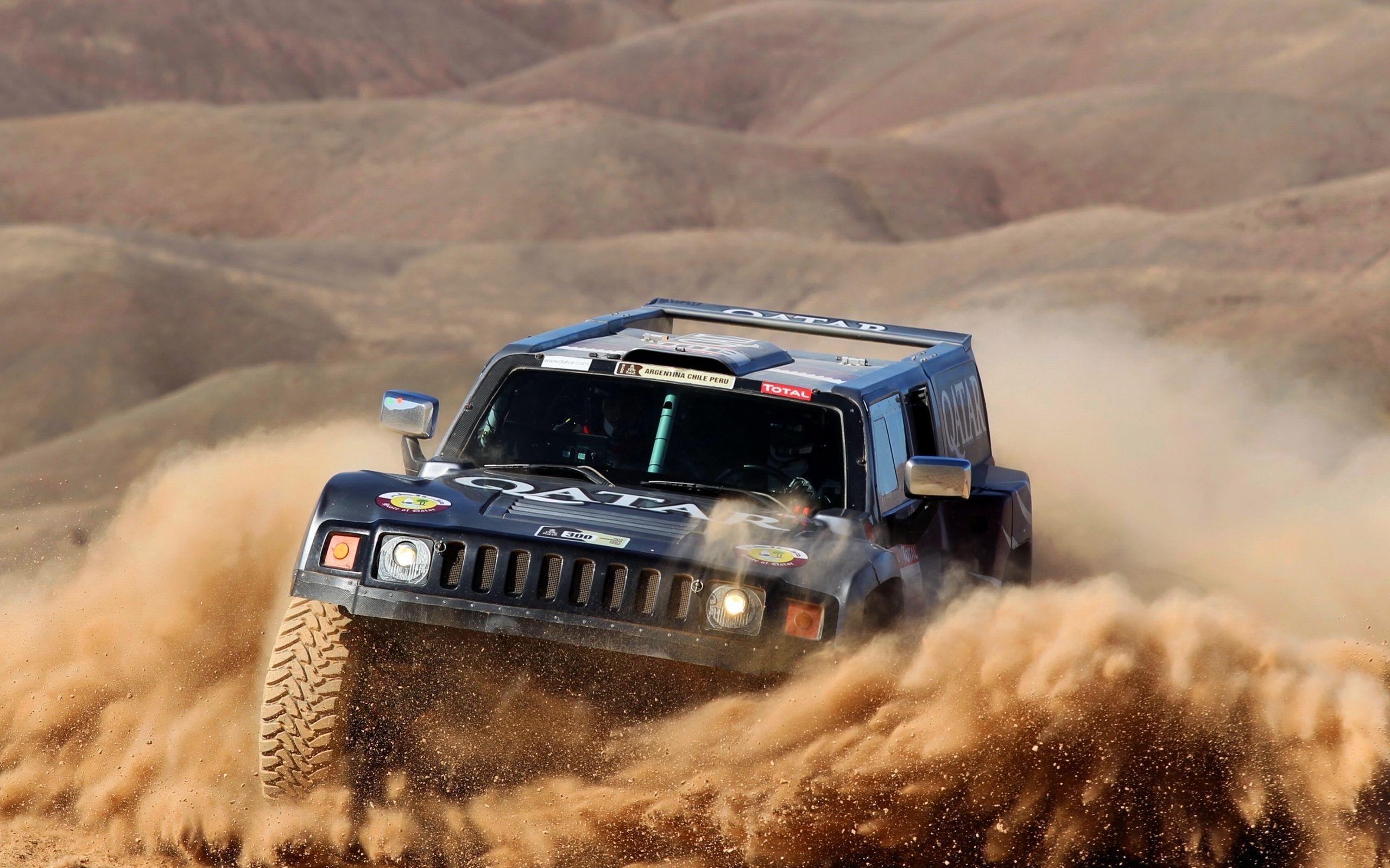 Hummer In Desert Rally Hummer Toy Car Dakar