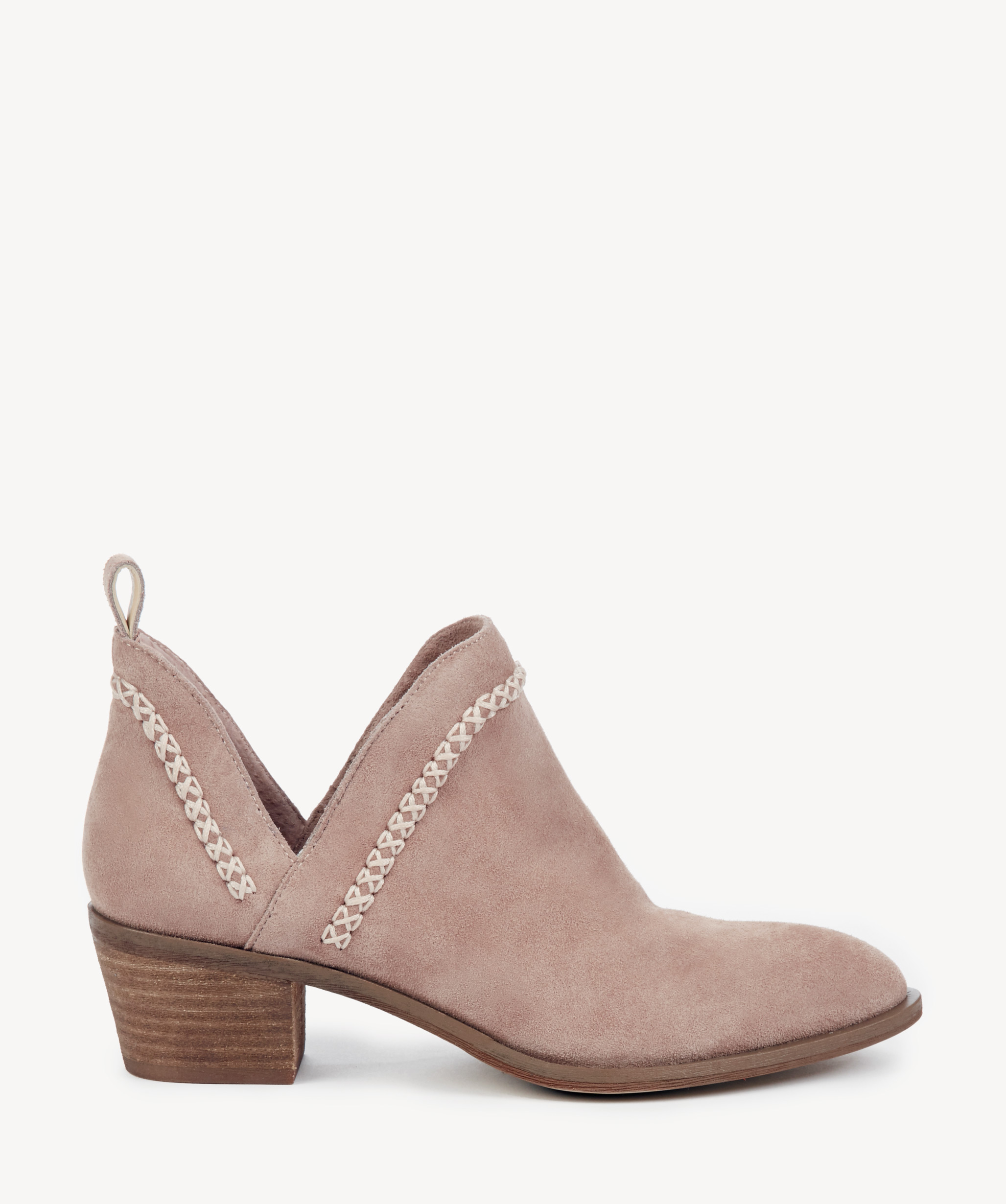 eb6775b93c3 Sole Society Nikkie Braided Bootie Dusty Rose
