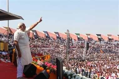 झांसी में मोदी की रैली आज, निशाने पर होगी बदहाली - Modi to address rally