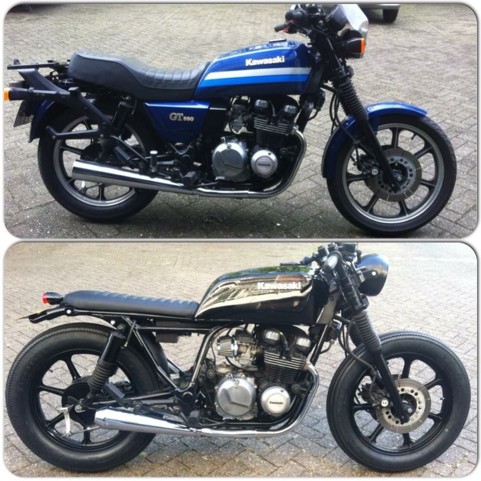 Pin By Andrew Mcgill On Cafe Racer Kawasaki Gt550 Kawasaki Cafe Racer Cafe Racer Motorcycle Cafe Racer [ 960 x 960 Pixel ]