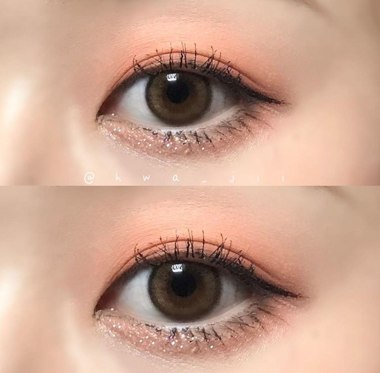 Korean style eye makeup 😍💁♀️ 🌟 Makeup, Makeup looks