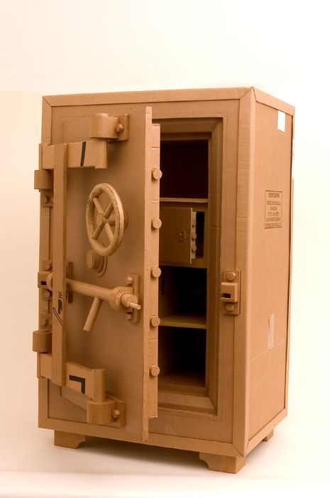 Restructuring Cardboard Boxes into Life-Size Objects - My Modern Metropolis
