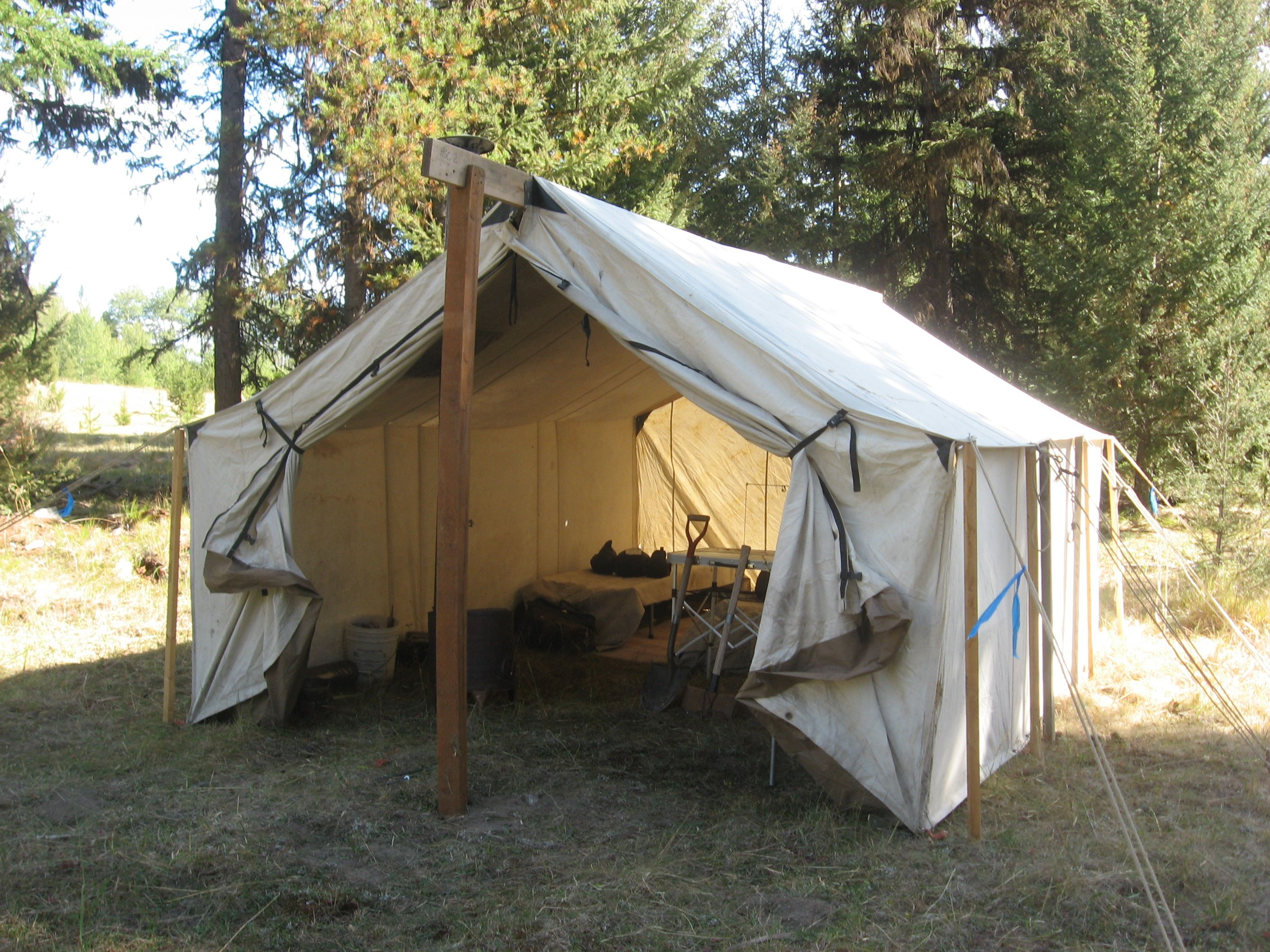 Old fashioned tent camping look at these awesome for Colorado canvas tent