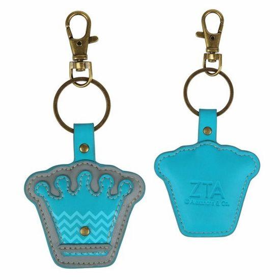 Zeta Tau Alpha Mascot Keychain #zta #sororitykeychain