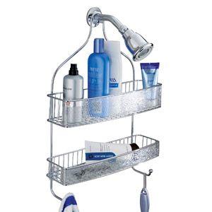 Interdesign Rain Wide Shower Caddy Clear Bathroom Pinterest