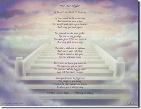 Stairway To Heaven Personalized Stairway To Heaven Poem