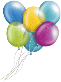Bunch of Balloons Clipart